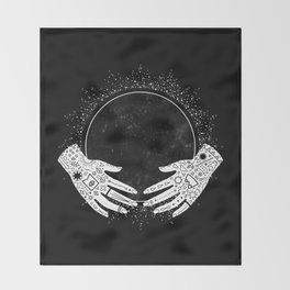 New Moon Throw Blanket