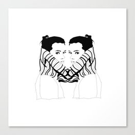 Turtleneck - III Canvas Print