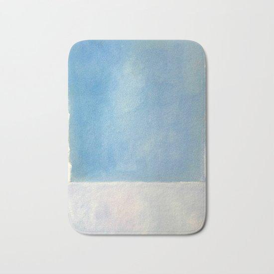 Mark Rothko Interpretation Untitled 1969 Bath Mat