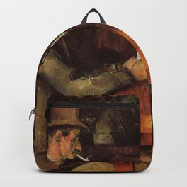 The Card Players Paul Cézanne Backpack