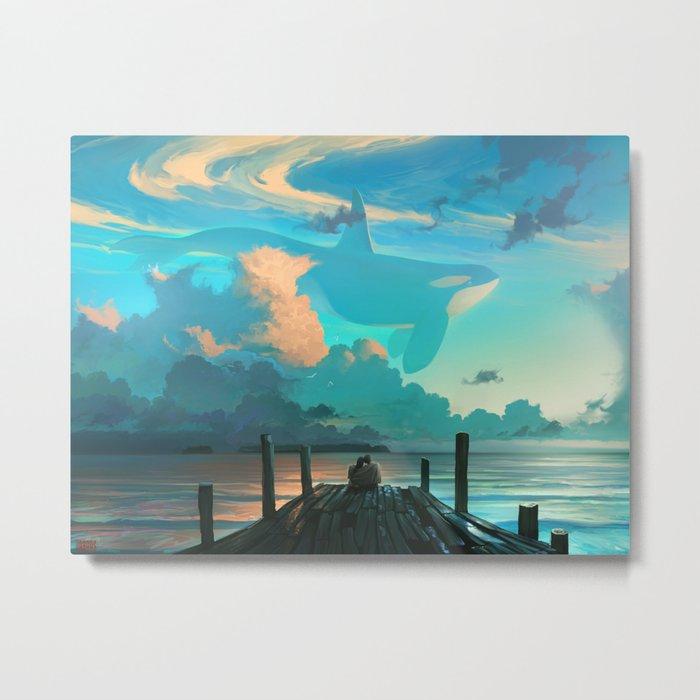 Sky for Dreamers Metal Print