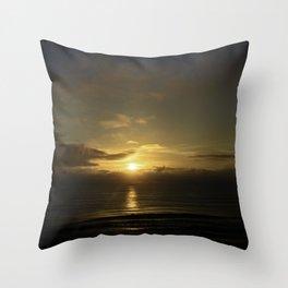 Daytona Sunrise Throw Pillow