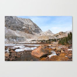 Mt Toll In The Distance Canvas Print