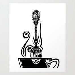 Do More Spoon Art Print