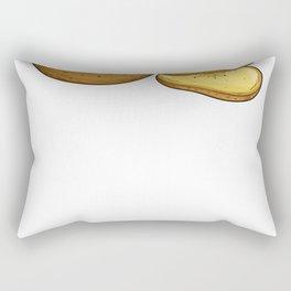 Potato Yam Sweet Chips Gift Rectangular Pillow