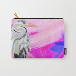Heron at Sunset Carry-All Pouch