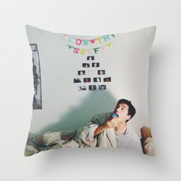 Know Thy Selfy Throw Pillow