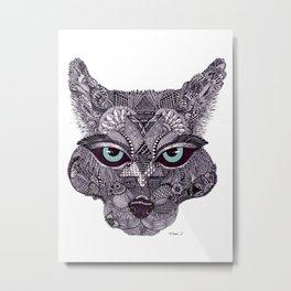 'Wolf' by Tameka Westerland.  Metal Print