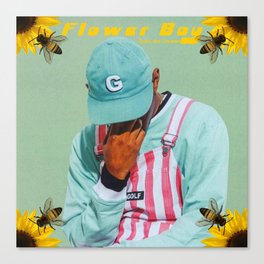 Tyler, The Creator - Flower Boy Canvas Print