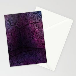 Patterns on the Wall Stationery Cards