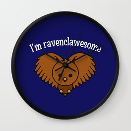 I'm Ravenclawesome Wall Clock