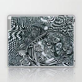 Liquid Skull Laptop & iPad Skin