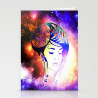 iris Stationery Cards featuring Iris  by haroulita
