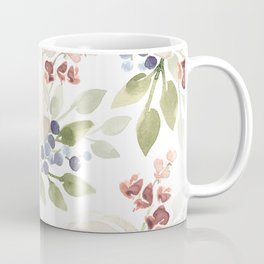 Watercolor ranunculus - Watercolor floral pattern Coffee Mug