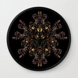 Reflected Spring Wall Clock