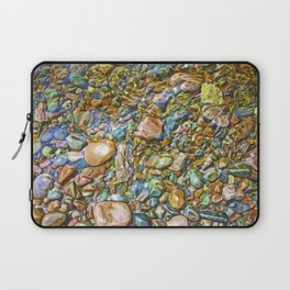 Baptism River Rocks Laptop Sleeve