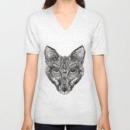 Forest fox Unisex V-Neck