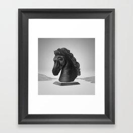 horse no.4 Framed Art Print