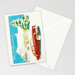 Vintage Christmas Tucker 48' Vintage Car Stationery Cards