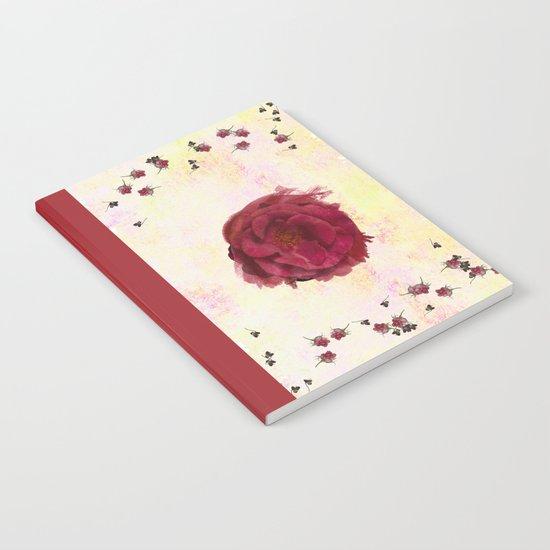 Sweet Aroma Rose Notebook