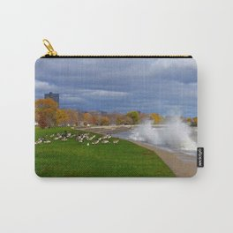Time to Fly South? (Birds of Chicago Collection) Carry-All Pouch