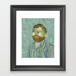 Vincent Van Goof Framed Art Print