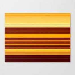 Golden Lava Canvas Print