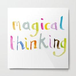 magical thinking watercolor Metal Print