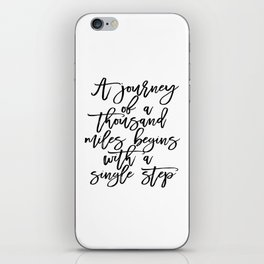 Inspirational Quote Travel Quote ADVENTURE Print Watercolor Letters Typography Print Wall Art iPhone Skin