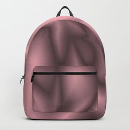 Pink silk Backpack