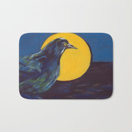 Awakening (American Crow) Bath Mat