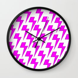 Flashes before my Eyes Wall Clock