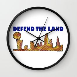 Defend the Land CLE Wall Clock