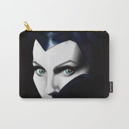 Angelina Jolie as Maleficent  Carry-All Pouch