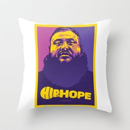 Mr.Action ( HIP-HOPE Series ) Throw Pillow
