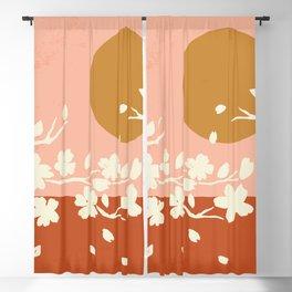 Sakura Blossom Bliss Blackout Curtain