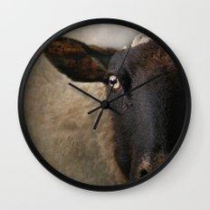 In a sheep's eye Wall Clock