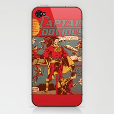 Captain Obvious! iPhone & iPod Skin