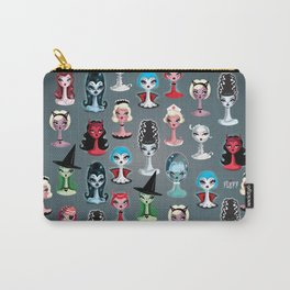 Spooky Dolls Pattern Carry-All Pouch