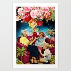 Gardening Stories 1 Art Print