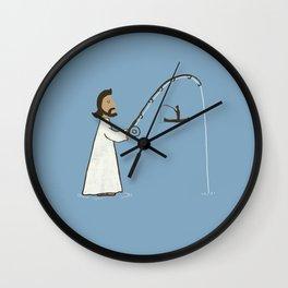 Jesus Fish Wall Clock