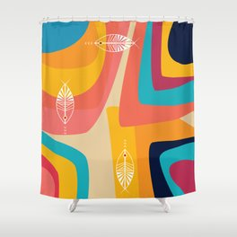 Colorful Imaginations! Shower Curtain