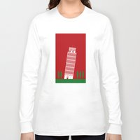 italy Long Sleeve T-shirts featuring ITALY by Marcus Wild