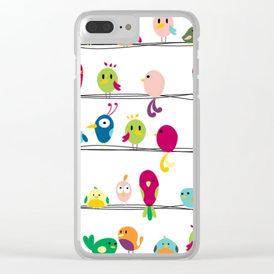 Singing Monsters Clear iPhone Case