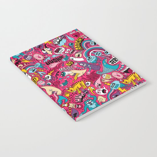 Sad Donut, Jerk  Notebook