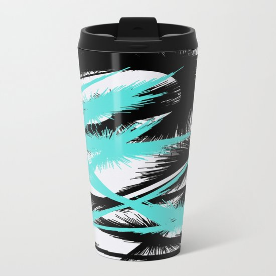 Spiral abstract Metal Travel Mug