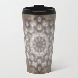 Silver and gold CB Travel Mug