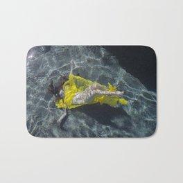 Woman Submerged Bath Mat