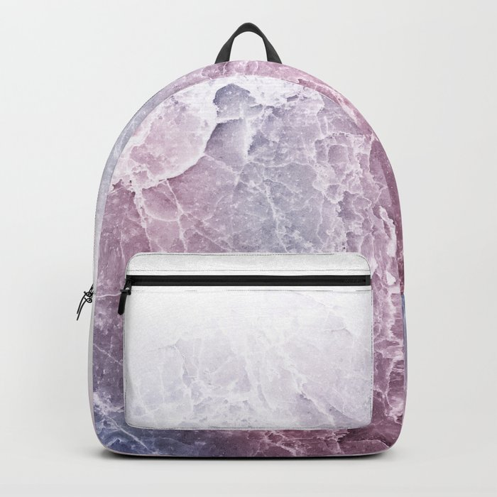 Sea Dream Marble - Rose and white Backpack
