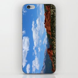 Garden Of Gods View With Kissing Camels iPhone Skin